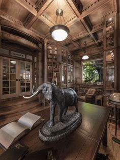 Home Library - Steampunk Daily Steampunk Shop, Steampunk Accessoires, Library Room, Dream Library, Library Ideas, Beautiful Library, Library Design, Steampunk Architecture, The Illusionist