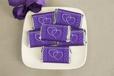 Unique Together At Last Candy Bars: Wedding Favors wrappedhersheys.com #hearts #wedding #customcandy #WHCandy