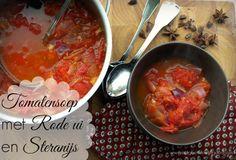 Eet goed, Voel je goed: Comfort Food - Tomatensoep met Rode ui en Steranijs