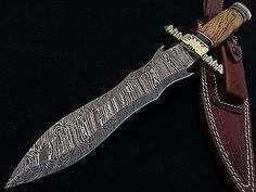 Damascus Steel/Knives collection on eBay!