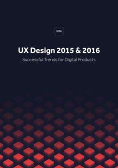 UX Design Trends 2015 & 2016 (free e-book)… Design Web, Web Design Trends, Web Design Company, Graphic Design Books, Book Design, Design Thinking, Blockchain, Ecommerce Webdesign, Trends 2015 2016