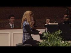 """Erin Bates plays """"It is Well With My Soul"""" at Crown College"""