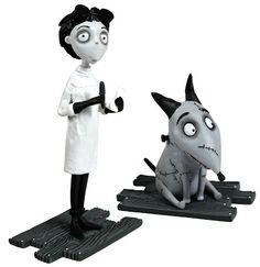 Figuras Frankenweenie Victor y Sparky | Merchandising Películas