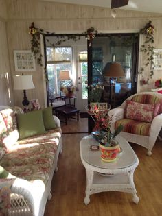My Sun Room and BackPorch