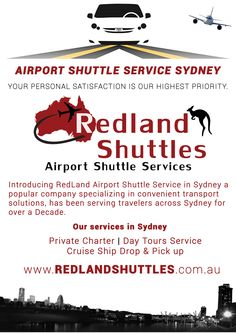 Introducing RedLand Airport Shuttle Service Blacktown, Sydney a popular company specializing in convenient transport solutions, has been serving travelers across Sydney for over a Decade.