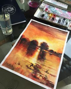 Watercolorist: @adempotas #waterblog #акварель #aquarelle #painting #drawing #art #artist…""