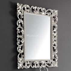 Miroir Rivoli blanc 120x90 | Deco | Pinterest | Miroirs, Nouvelle ...
