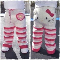 Etsy seller Mazter has created a knitting pattern for these teeth-achingly cute Hello Kitty toddler trousers and is accepting pre-sales. Knitting pattern - Kitty pants (via Craft)