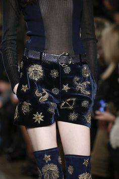 Zodiac Shorts -- Emilio Pucci Fall 2015 Ready-to-Wear - Collection Same: http://m.fr.topshop.com/h5/product?productId=22128523