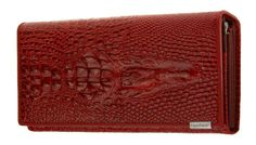 Zando Women's Crocodile Vintage Multi Pockets Genuine Leather Long Bifold Wallet Brown. ABOUT ZANDO: Zando is an American registered brand, all products are sold exclusively by USA 1st Store authorized retailers, all products are 100% brand new and in high quality. STYLISH CROCODILE EMBOSSED DESIGN: Both unique and elegant. These vintage and luxury wallets are the best gifts for women. MULTI-CARD SLOTS: 1*ID Window pocket & 1* Zipper pocket & 4* Bill compartments & 9* Card slot pockets…