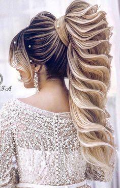 Trending Hairstyles 2019 – Long Hairstyles Art – EveSteps – Long Hairstyles - All For Wedding Hair Style Wedding Hairstyles For Long Hair, Braided Hairstyles, Hair Wedding, Hairstyle Men, Modern Hairstyles, Men's Hairstyles, Hairstyle Ideas, Pretty Hairstyles, Wedding Makeup