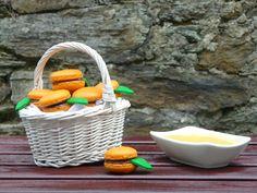 Cocina para burros: Macarons de naranja y ganaché con orange curd
