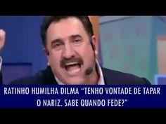 Política na Rede: Ratinho humilha Dilma: 'Dá vontade de tapar o nariz. Sabe quando fede?'; veja o vídeo