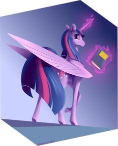Twilight Sparkle alicorn by Batonya12561