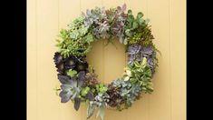 Making a Succulent Wreath