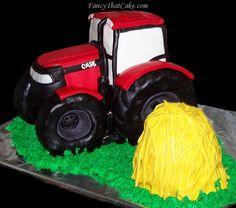 International Harvester Case Tractor Cake