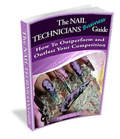 The Nail Technicians Business Guide- How To Outperform and Outlast Your Competition. http://www.nailsalonsuccesscoach.com/the-nail-technicians-business-guide-to/