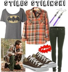 Character: Stiles Stilinski Fandom: Teen Wolf Episode: Omega Buy it here! Teen Wolf Fashion, Teen Wolf Outfits, Nerd Outfits, Tv Show Outfits, Fandom Outfits, Teenager Outfits, Cool Outfits, Fashion Outfits, Oufits Casual