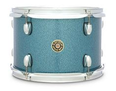 """Gretsch Drums Catalina Maple Series 8"""""""" x 7"""""""" Mounted Tom Aqua Sparkle"""