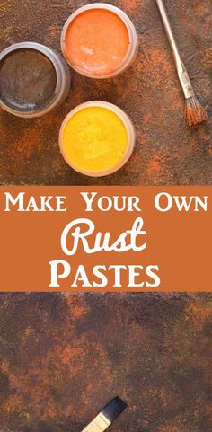 DIY Rust Pastes - Make it Yourself!, DIY and Crafts, Make your own DIY Rust Pastes with Heather Tracy for The Graphics Fairy! Such a great technique to use in crafting and Mixed Media work, great for Hom. Graphics Fairy, Make Your Own, Make It Yourself, How To Make, Diy Locker, Diy Blanket Ladder, Bath Bomb Recipes, Diy Kitchen Decor, Valentines Diy
