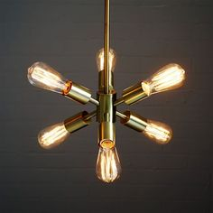 could also go quite well with the other pendant chandelier you bought. We were thinking you could put that one in the Living Room, and maybe these in the kitchen, with a totally different fixture in between, over the dining table - Mobile Pendant- Small