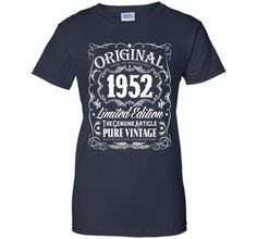 Original 1952 Aged To Perfection 64th Birthday T-Shirt