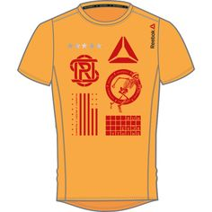 Reebok Osr SS Tee teknisk trenings t-shirt til herre med SpeedWick teknologi som transporterer svette og varme for å holde huden tørr og komfortabel.
