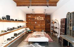 Allow us to introduce you to cult Bay Area shoe line, Freda Salvador.