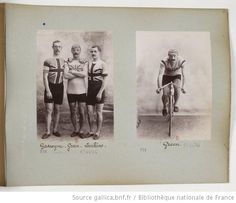 Amazing pictures from the French National Library of early cyclists from the pre-1914 era. British riders, Gascoyne being Tom Gascoyne, killed in WWI   [Collection Jules Beau. Photographie sportive] : T. 14. Année 1901 / Jules Beau - 101