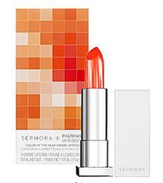 Tangerine Tango Creme Lipstick  Sephora + Pantone University