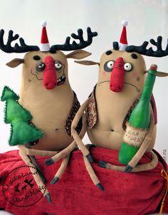 Ароматизированные куклы ручной работы. Ярмарка Мастеров - ручная работа ...весело, весело встретим Новый год!.... Handmade.