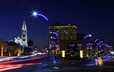 New #LED lights promise colorful, safer downtown #StLouis. City Lighting Products | https://www.facebook.com/CityLightingProducts/