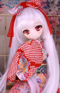You are in the right place about Doll dress Here we offer you the most beautiful pictures about the rag Doll you are looking for. When you examine the part of the picture you can get the massage we wa Anime Dolls, Blythe Dolls, Kawaii Doll, Anime Figurines, Dream Doll, Smart Doll, Creepy Dolls, Custom Dolls, Ball Jointed Dolls