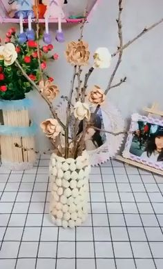 Creative ideas What is Decoration? Decoration could be the art of decorating the inside and exterior of the building type … Diy Crafts For Home Decor, Diy Crafts Hacks, Diy Crafts For Gifts, Diy Arts And Crafts, Creative Crafts, Paper Crafts, Diy Wall Decor, Wood Crafts, Diy For Kids