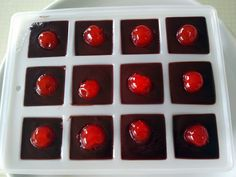 """Chocolate cherry dessert shots! 5.00 stars, 2 reviews. """"I love making fun food for parties. And these are perfect."""" @allthecooks #recipe"""