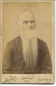 Seeley is this? Ebenezer or Randolph? Long Beards, The Man, Fathers, Dads, Long Hair Beard