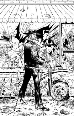 The Walking Dead #1 by Tony Moore.
