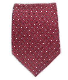 Wacker Drive Checks - Red | Ties, Bow Ties, and Pocket Squares | The Tie Bar