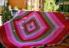 The Wild Wild Rose Crochet Blanket | Flickr - Photo Sharing!