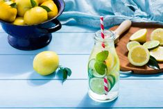 Can drinking lemon water help you lose weight? Drinking Lemon Water, Lose Weight, Weight Loss, Nutrition, Cleanse, Helpful Hints, Watermelon, Wellness, Canning