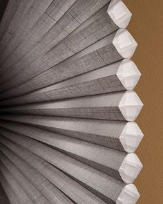 Linen textured Duette® Architella® honeycomb shades bring a sense of inviting warmth for friends and family. ♦ Hunter Douglas window treatments