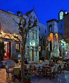 Mesta Platia, Chios Island / by Hercules Milas Chios Greece, Crete, Great Places, Places To See, Beautiful Places, Malta, Monaco, Portugal, Greek Isles