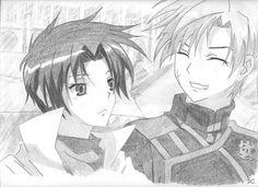 Teito and Mikage by Ashadria on deviantART