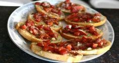 Italian-Inspired Tomato Sandwich
