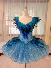 Professional Classical Ballet Tutu Sleeping Beauty Blue Bird Dance Costume