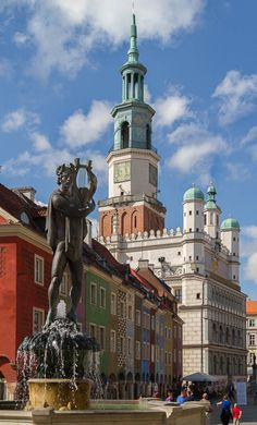Poznan Market Square (Stary Rynek). by Andreas Falco on 500px