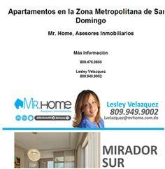 Apartamentos en la Zona Metropolitana de Santo Domingo - Publicidad