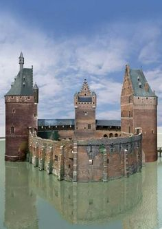 Beersel Castle, Belgium