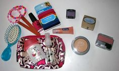 Homemade Princess Beauty Bags on the cheap! :) Shop sales and use free samples to supplement the bag!