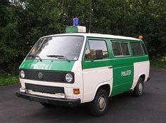 """vw polizei   VW-Kombi, Typ 253 """"VW-Bus"""" Polizei"""